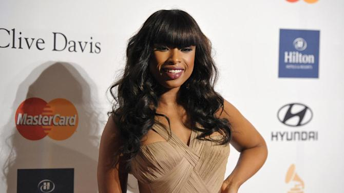 Recording artist Jennifer Hudson arrives at the Clive Davis Pre-GRAMMY Gala on Saturday, Feb. 9, 2013 in Beverly Hills, Calif. (Photo by John Shearer/Invision/AP)