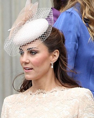 Kate Middleton's $75 Cubic Zirconia Earrings