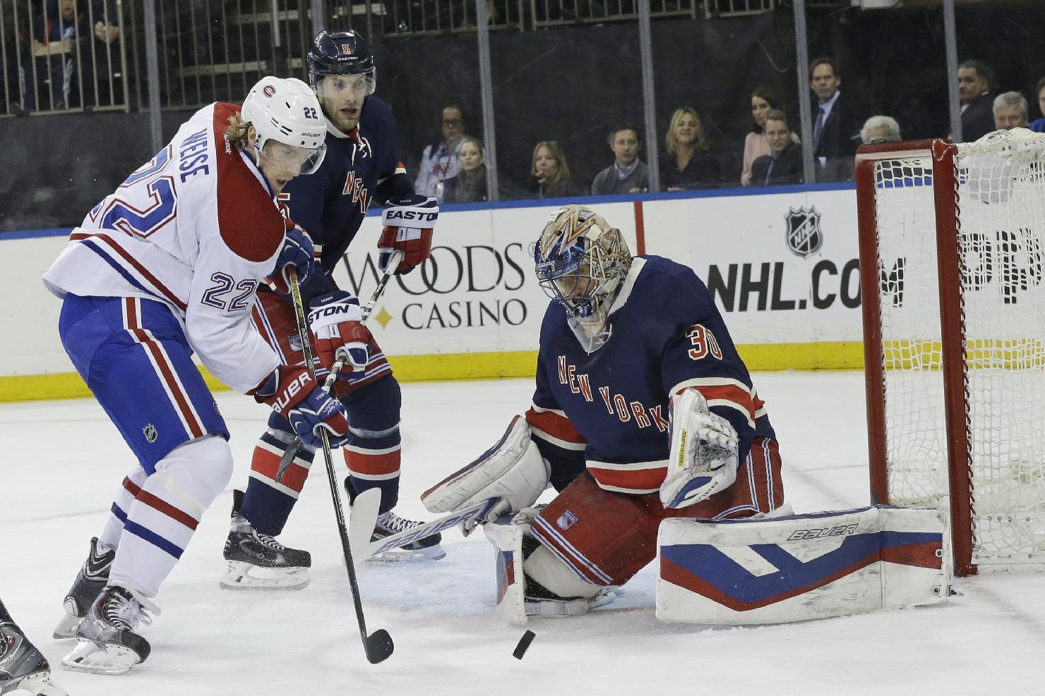 Rangers hit scoring slump, drop 2 straight after break