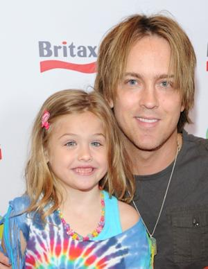 Dannielynn Birkhead and photographer Larry Birkhead attend a pre-Father's Day Mini Golf Open celebrating the summer launch of the Britax Baby Carrier hosted by Britax and Baby Buggy at Castle Park, Sherman Oaks, on June 11, 2011 -- Getty Images