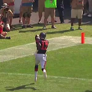 Chicago Bears wide receiver Alshon Jeffery 8-yard touchdown catch and run