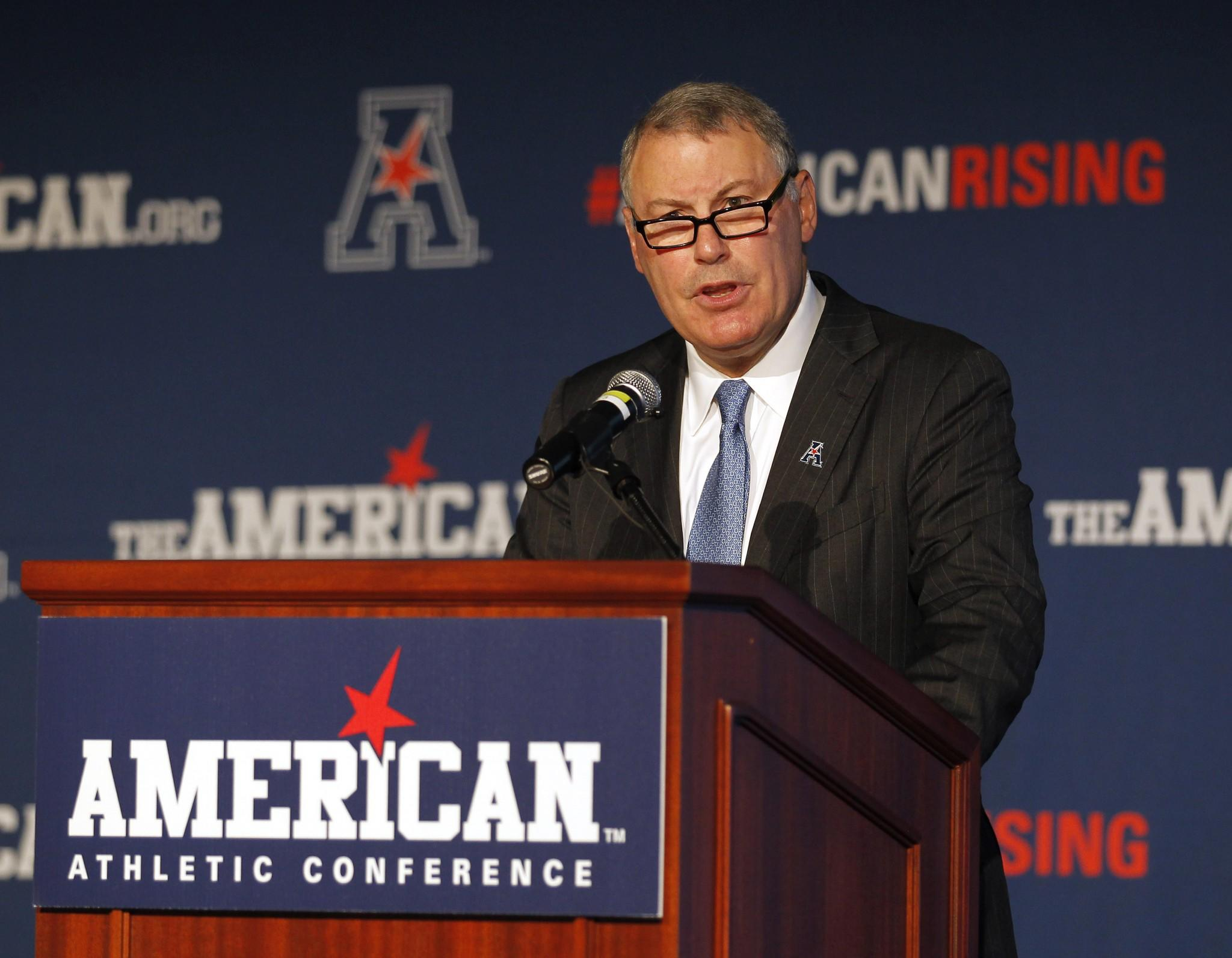 AAC commissioner: 'It looks like' some members will leave for Big 12