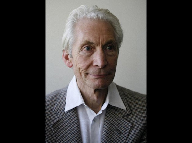 This June 27, 2012 photo shows Charlie Watts of the Rolling Stones in New York. Watts' latest venture is The A, B, C, and D of Boogie Woogie. The jazz quartet just released a live album from one their shows during a recent 10 show run at the Paris club, Duc Lombards. (AP Photo/John Carucci)