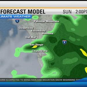 8 Weather Update: Weekend storm moving in 5:00 p.m.