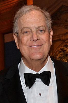 5. David Koch, New York City, $31 billion