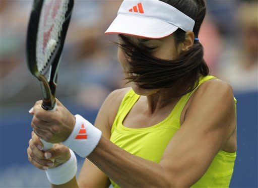 Williams wins 6-0, 6-0 at US Open; Fish withdraws