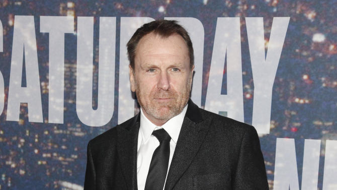"""FILE - In this Feb. 15, 2015 file photo, Colin Quinn attends the SNL 40th Anniversary Special in New York. The Brooklyn-born Irish-American comedian returns to the stage next month eulogizing the loss of loudmouth, opinionated New Yorkers in his with the one-man show """"The New York Story"""" at The Cherry Lane Theatre. (Photo by Andy Kropa/Invision/AP, File )"""