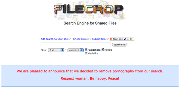Filecrop pornographie femmes respect