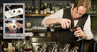 Click the image to watch a mixologist at work
