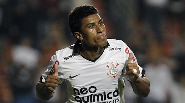 2011-12, Corinthians, Paulinho (Ap/LaPresse)