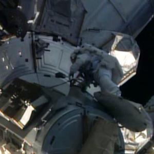 Spacewalk to repair International Space Station underway