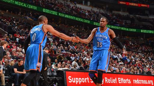 Durant helps Thunder edge Bulls 97-91