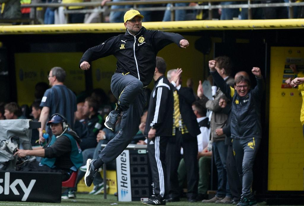 Dortmund claim Europa place on Klopp's home bow