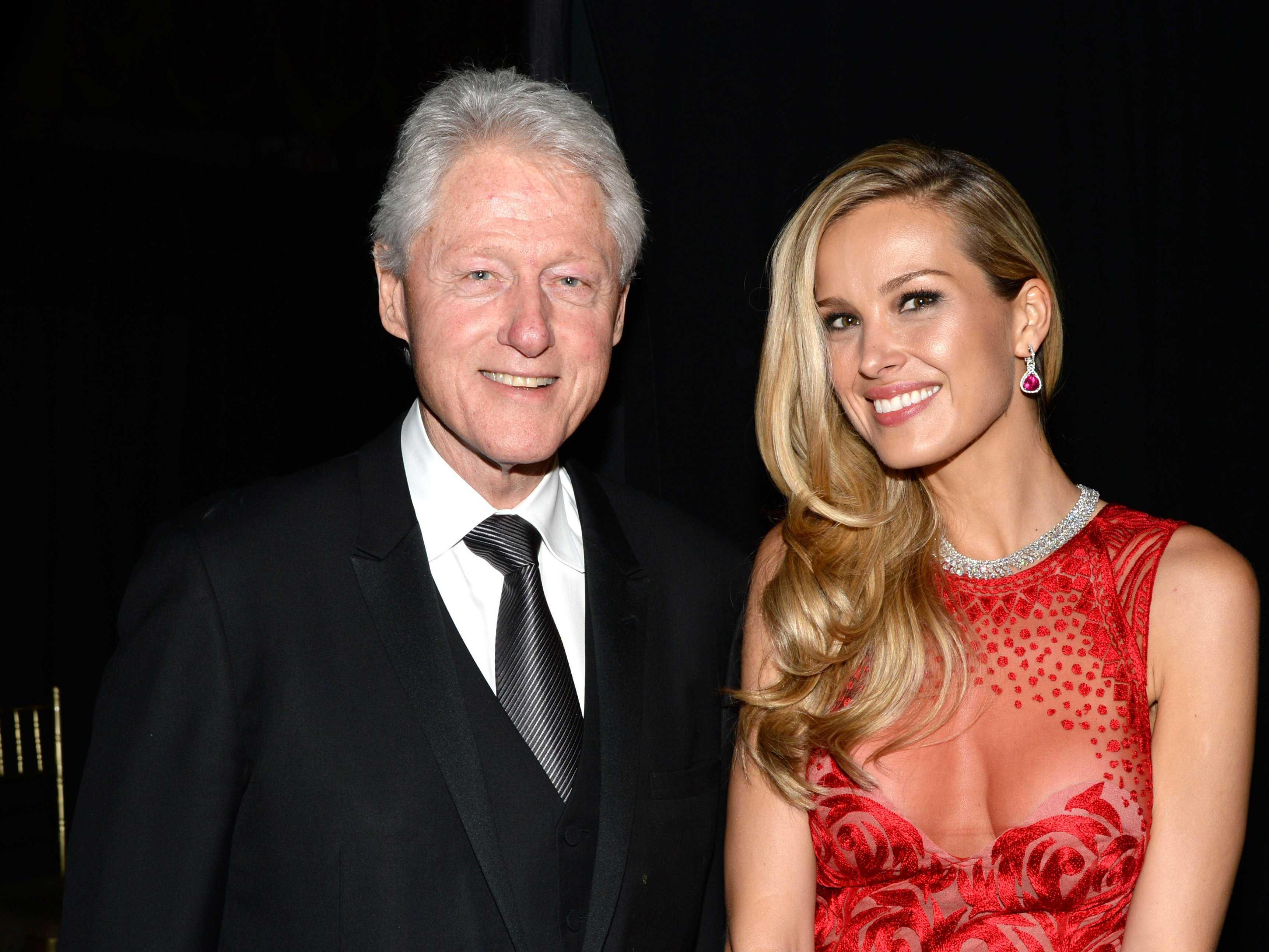 The latest Clinton cash intrigue involves a Czech model and a 'distasteful' $500,000 donation
