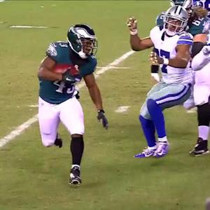 Philadelphia Eagles running back Darren Sproles 1-yard TD run