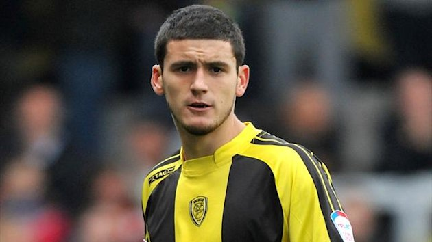 Anthony O'Connor - Torquay defender on loan from Blackburn
