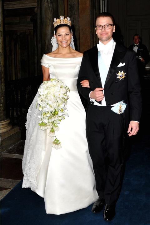 Putri Victoria dari Swedia dan suaminya, Pangeran Daniel.