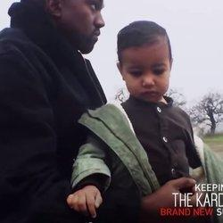 Watch Adorable Footage Of North West On The 'Only One' Set
