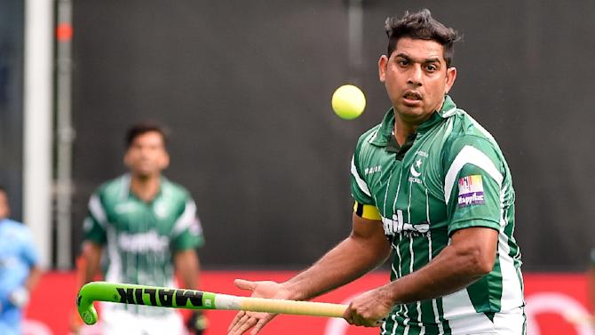 Imran Muhammad for Pakistan, whose last last international title in field hockey came in 1994 when they won the World Cup in Sydney