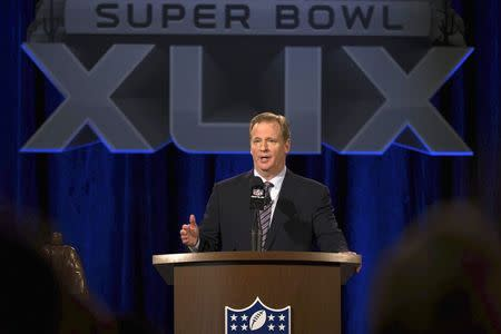 Goodell plays defense during state of league address