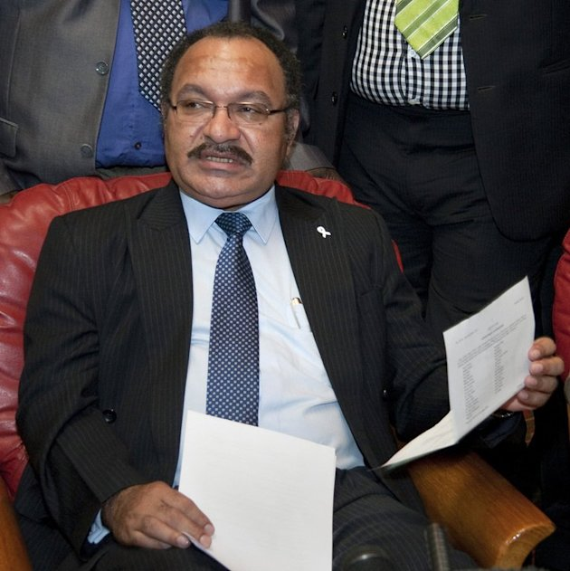 Papua New Guinea Prime Minister Peter O'Neill, shown in Port Morseby in 2011