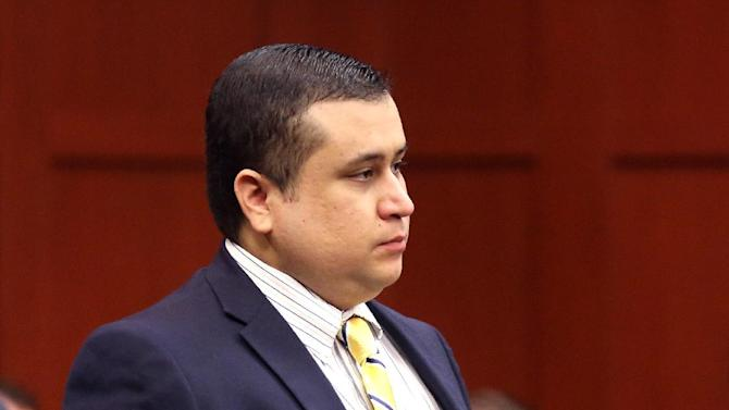 "George Zimmerman, defendant in the killing of Trayvon Martin, arrives in Seminole circuit court, in Sanford, Fla., for a pre-trial hearing, Tuesday, April 30, 2013.  Zimmerman, the former neighborhood watch leader told Circuit Judge Debra Nelson that he agrees with his defense attorneys' decision not to seek an immunity hearing under the state's ""Stand Your Ground"" self-defense law.  Zimmerman has pleaded not guilty, claiming self-defense. Martin was fatally shot in February 2012 during a fight with Zimmerman in a Sanford gated community.  (AP Photo/Orlando Sentinel, Joe Burbank, Pool)"