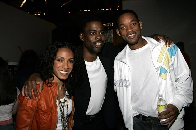 Jada Pinkett Smith Chris Rock Will Smith 2005