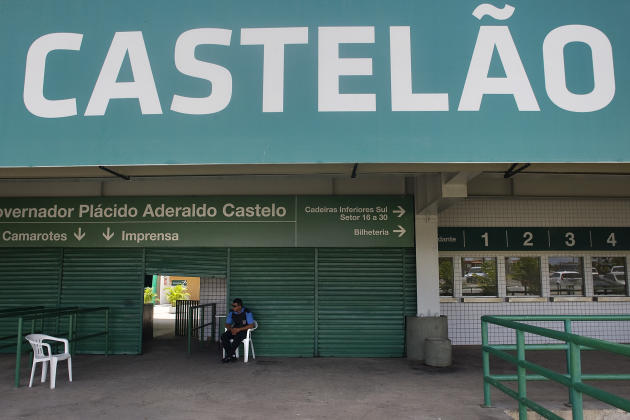 General Views Of Castelao Stadium