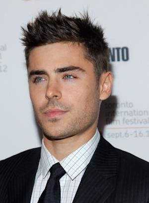 Zac Efron attends the 'The Paperboy' premiere during the 2012 Toronto International Film Festival in Toronto on September 14, 2012 -- Getty Images