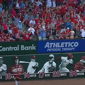 Peralta's walk-off homer
