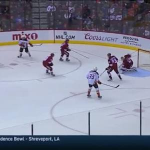 Devan Dubnyk Save on Patrick Maroon (13:17/2nd)