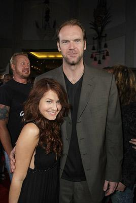 Scout Taylor-Compton and Tyler Mane at the Hollywood premiere of MGM/Dimension Films' Halloween