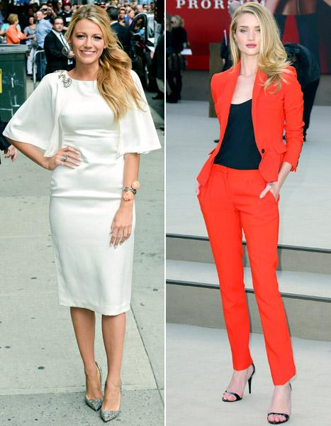 Blake Lively: Rosie Huntington-Whiteley Is My Celeb Style Crush!