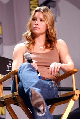 Jessica Biel Blade: Trinity panel 2004 San Diego Comic-Con International - 7/23/2004
