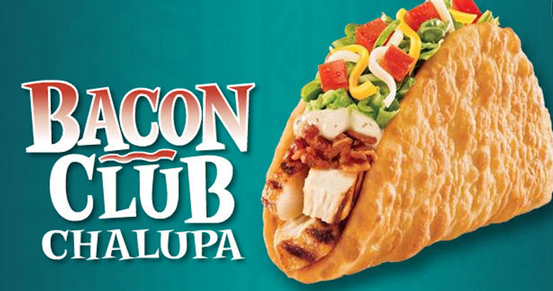 taco bell bacon club chalupa