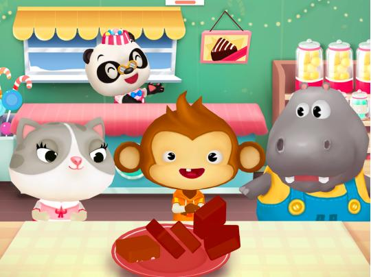 Kids' App of the Week: Dr. Panda Candy Factory