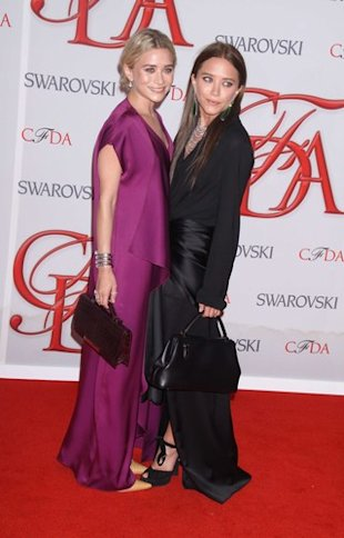 Winners List: 2012 CFDA Awards 50th Anniversary Olsen Twins