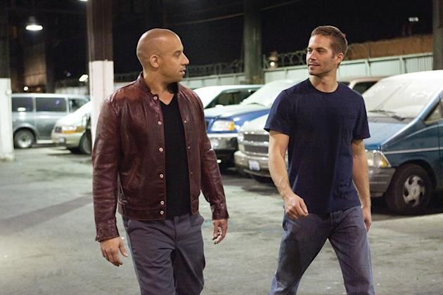 Fast & Furious Production Stills 2009 Universal Pictures Vin Diesel Paul Walker