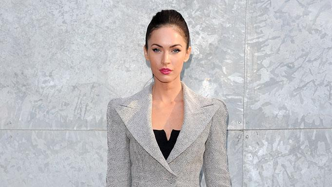 Milan Fashion Week Womenswear S/S 2011: Giorgio Armani - Front Row: Megan Fox