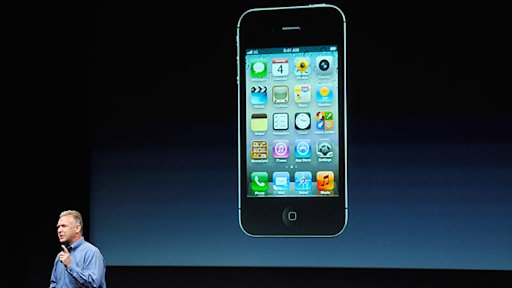 Apple Unveils iPhone 4S ... Not iPhone 5