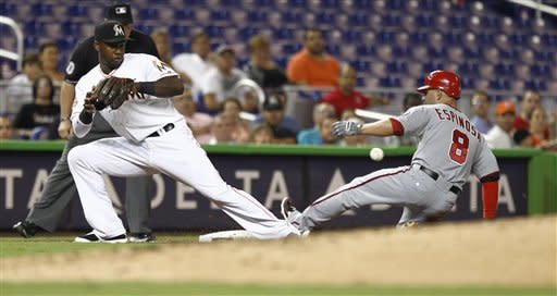 Marlins' Ramirez homers in 5-3 win over Nationals