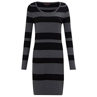 Kings Road Stripe Knit Dress, £65, by Great Plains