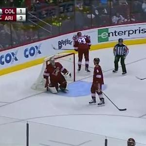 Gabriel Landeskog Goal on Mike Smith (01:36/3rd)