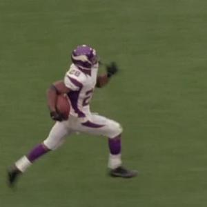 What is the significance of Minnesota Vikings running back Adrian Peterson not attending Vikings OTAs?