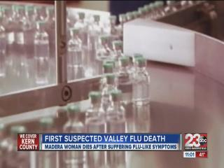 First suspected valley flu death