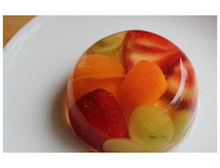 Mini Fruit Gelatin Molds