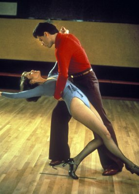 Karen Lynn Gorney and John Travolta in Paramount Picture's  Saturday Night Fever