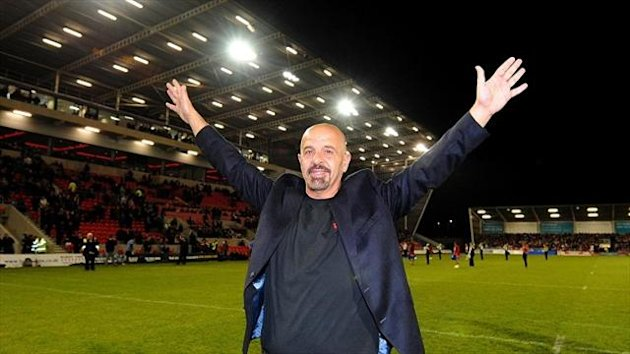 Dr Marwan Koukash helped make the draw