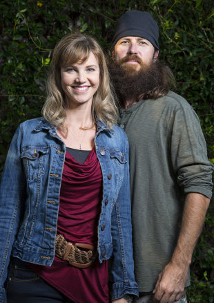 Jase Robertson and His Wife