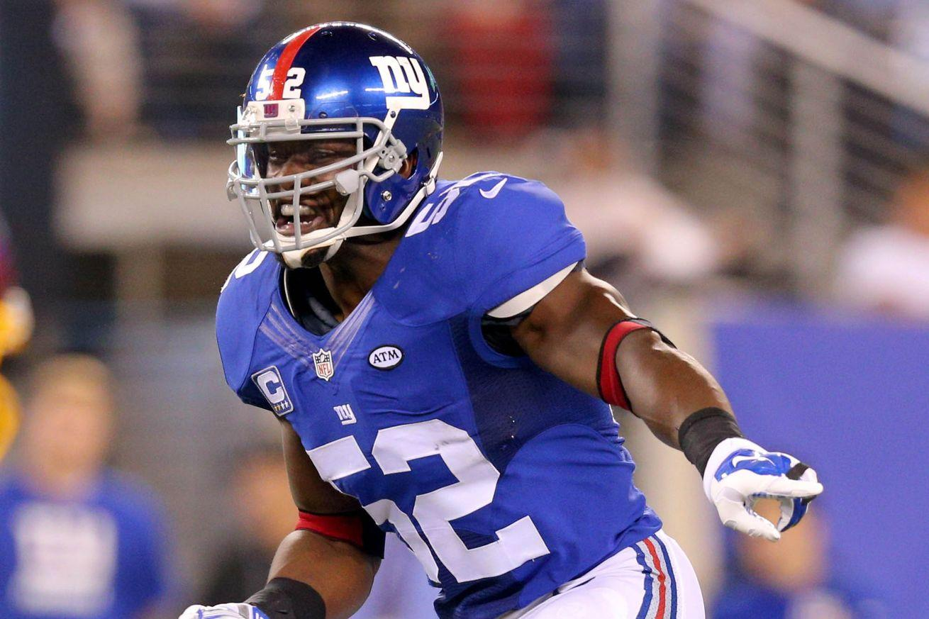 Giants LB Jon Beason announces his retirement from the NFL